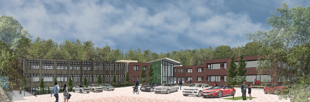 Planning application submitted VolkerWessels UK office expansion