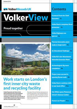 VolkerView Autumn 2010 front cover thumbnail