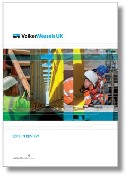 Cover In Review 2013 VolkerWessels UK